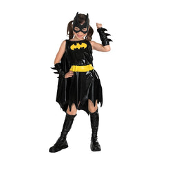 Warner Brothers DC Comics Batgirl Deluxe Costume in Black by Rubies Costume