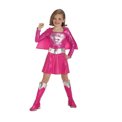 DC Comics Pink Supergirl Costume by Rubies Costume