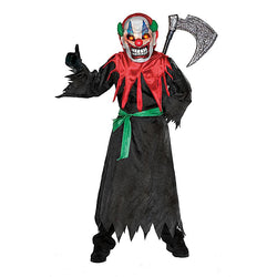 Halloween Crazy Clown with light up mask by Rubies Costume
