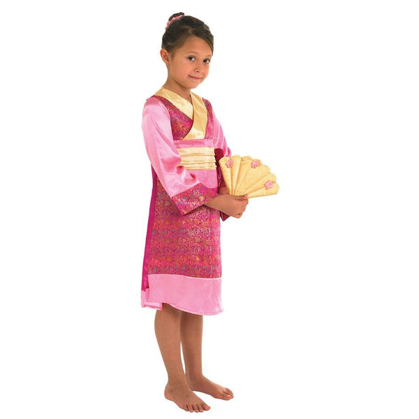 Book Week Around The World Kids Oriental Princess in Pink by Rubies Costume