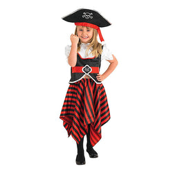 Historical Pirate Girl Costume