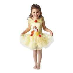 Princess Belle Golden Ballerina Dress by Rubies Costume