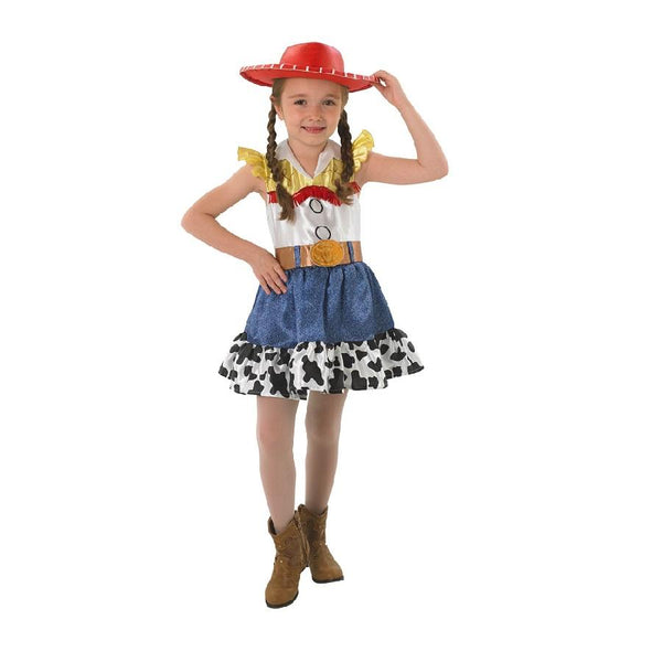 Toy Story Jessie The Cowgirl Dress and Hat by Rubies Costume