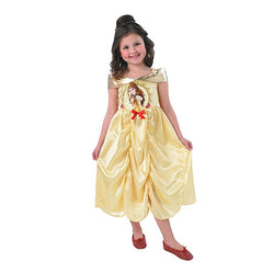 Princess Belle Story Time Classic Costume in Gold by Rubies Costume