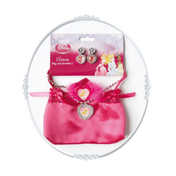 Sleeping Beauty Bag with Jewellery Set by Rubies Costume