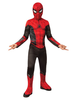 Marvel Comics Spider-Man Far From Home Official Red/Black Classic Spider-Man Movie Costume