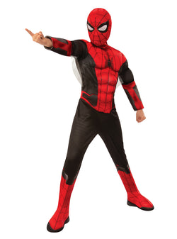 Marvel Comics Spider-Man Far From Home Official Deluxe Red/Black Spider-Man Movie Costume