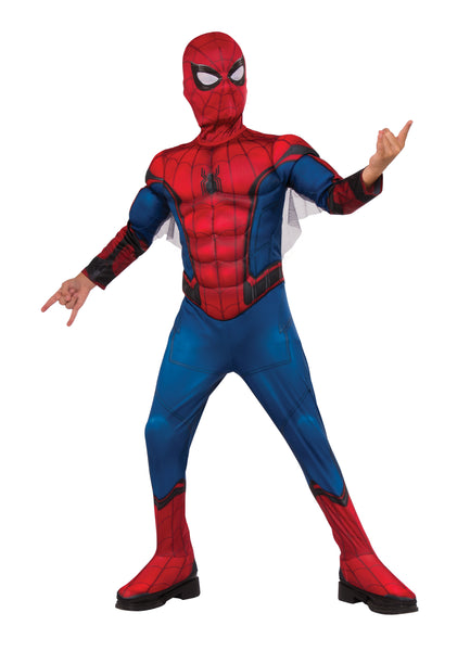Marvel Comics Spider-Man Far From Home Official Deluxe Spider-Man Movie Costume