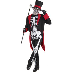 Halloween Mr Bones Jangles Adult Costume