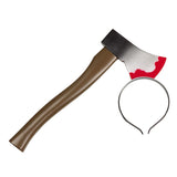 Halloween Axe in Head Accessory by Rubies Costume