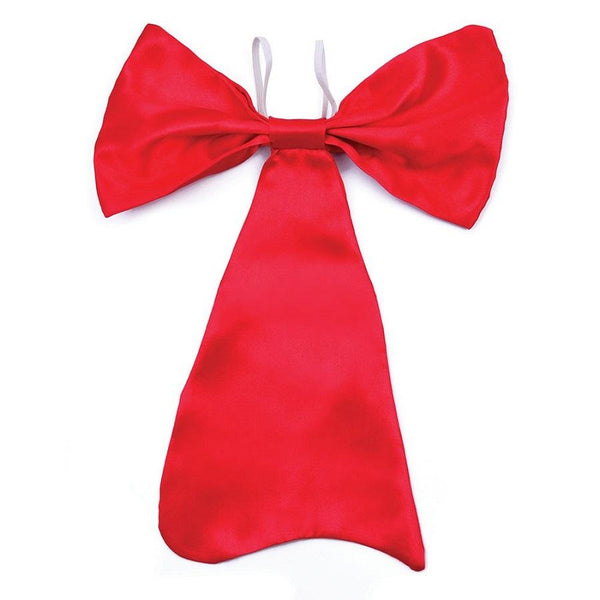 Book Week Large Red Tie Costume Accessory