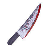 Halloween Knife Blood Splattered Accessory by Rubies Costume