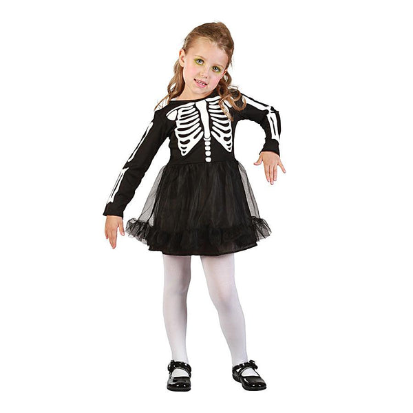 Halloween Skeleton Girl Toddler Costume by Rubies Costume