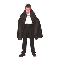 Black Dracula Halloween Cape by Rubies Costume