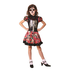 Halloween Day of the Dead Girl Costume by Rubies Costume