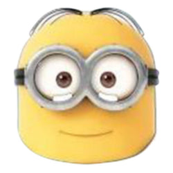 Minion Dave Character Mask Accessory by Rubies Costume