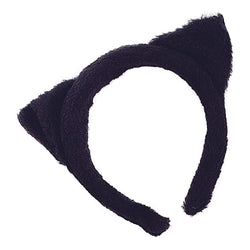 Black Cat Fur Ears Accessory by Rubies Costume