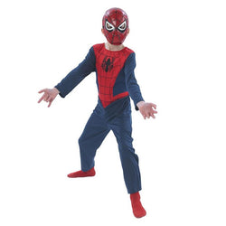 Marvel Ultimate Spider-man Action Suit by Rubies Costume