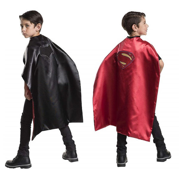 Warner Brothers DC Comics Batman & Superman Reversible Cape
