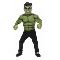 Marvel Hulk Muscle Top & Gloves by Rubies Costume
