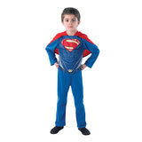 Superman Action Suit Man of Steel Costume by Rubies Costume
