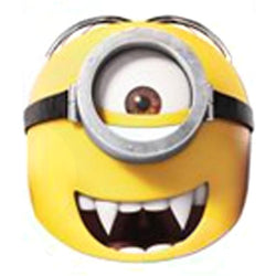 Minion Gone Batty Mask Accessory by Rubies Costume