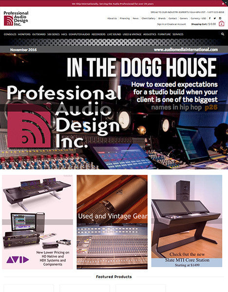 Professional Audio Design