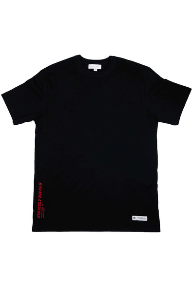 Strictly Rivals Paranoia Tee - ONYX
