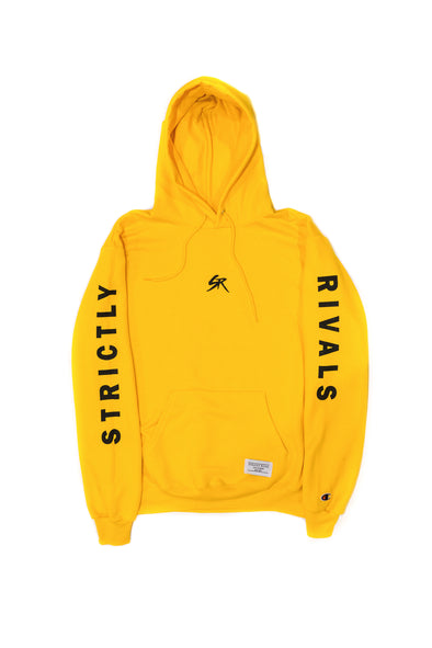 Strictly Rivals Monogram Champion Hoodie - GOLD