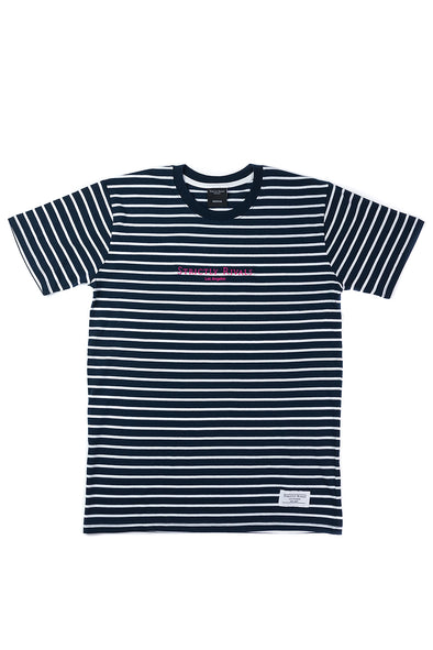 Strictly Rivals Striped Tee - NAVY/WHITE