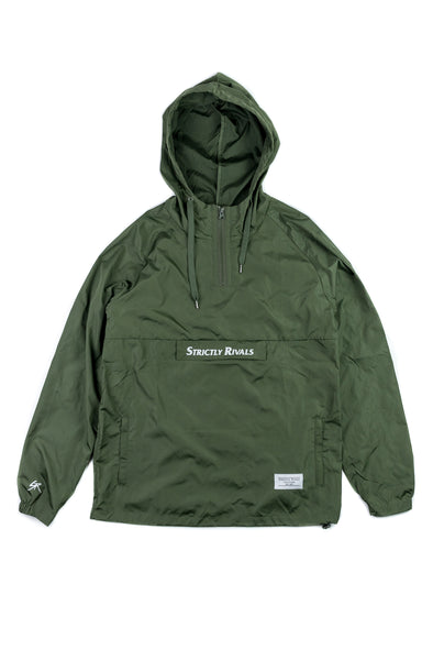 Strictly Rivals Anorak - OLIVE