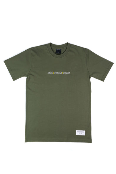 Strictly Rivals Bolt Tee - OLIVE
