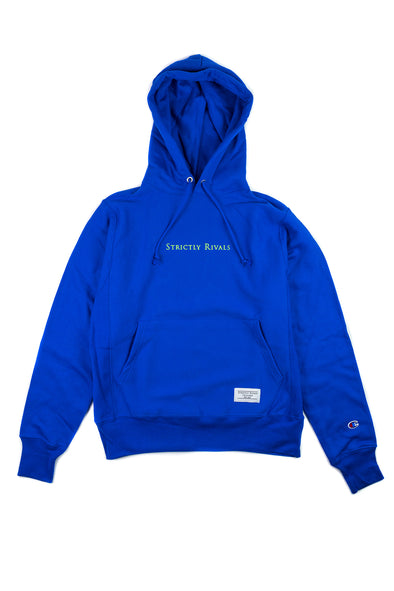 Strictly Rivals Classic Logo Champion Hoodie - SPORT ROYAL