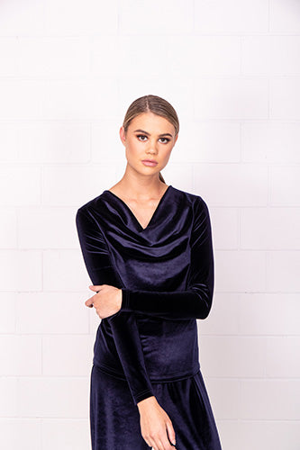 Feature Drape Top