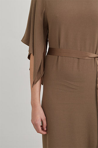 Square Sleeve Dress