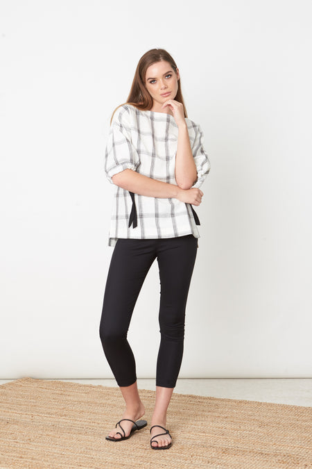 Frill Collar Swing Shirt
