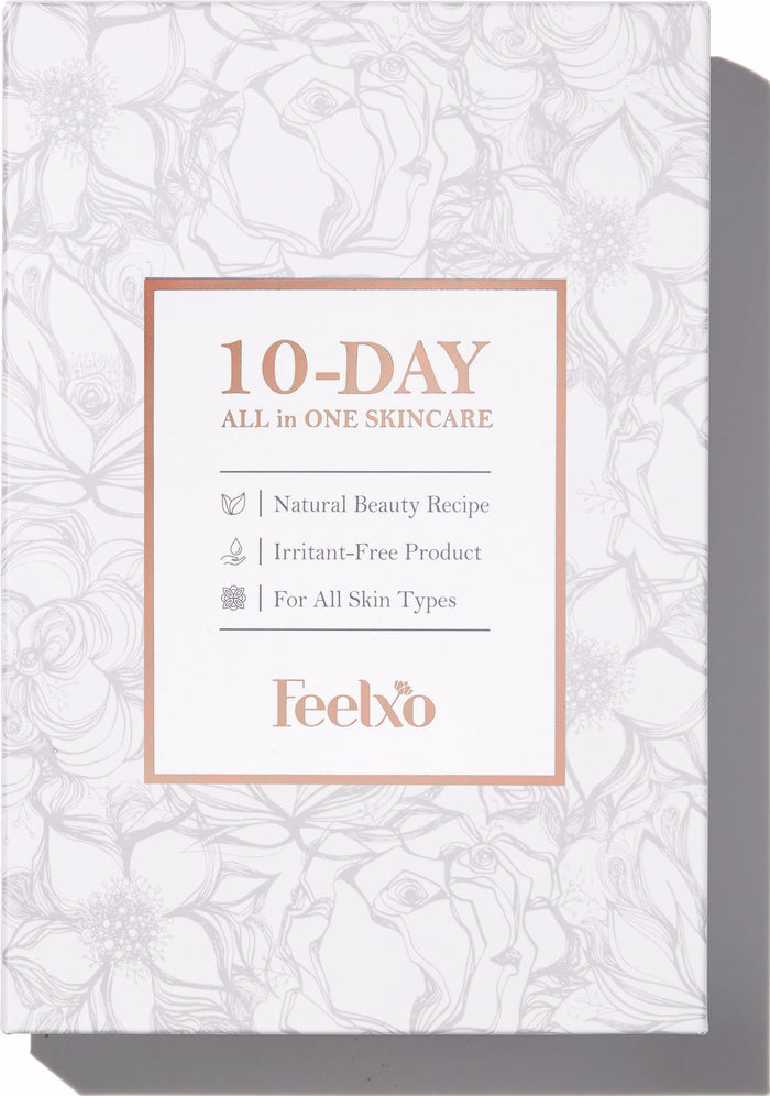 "10-DAY ""ALL in ONE"" SKINCARE PROGRAM (Set of 10)"