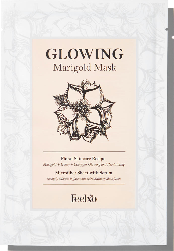 Glowing Marigold Mask