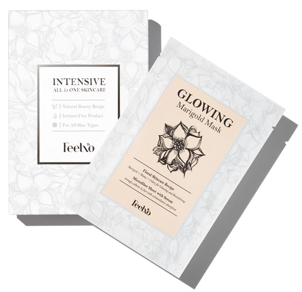"Intensive ""GLOWING MARIGOLD"" Skincare (Set of 8)"