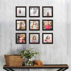 Photo Frames Set of 9
