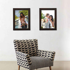 Photo Frames Large Brown
