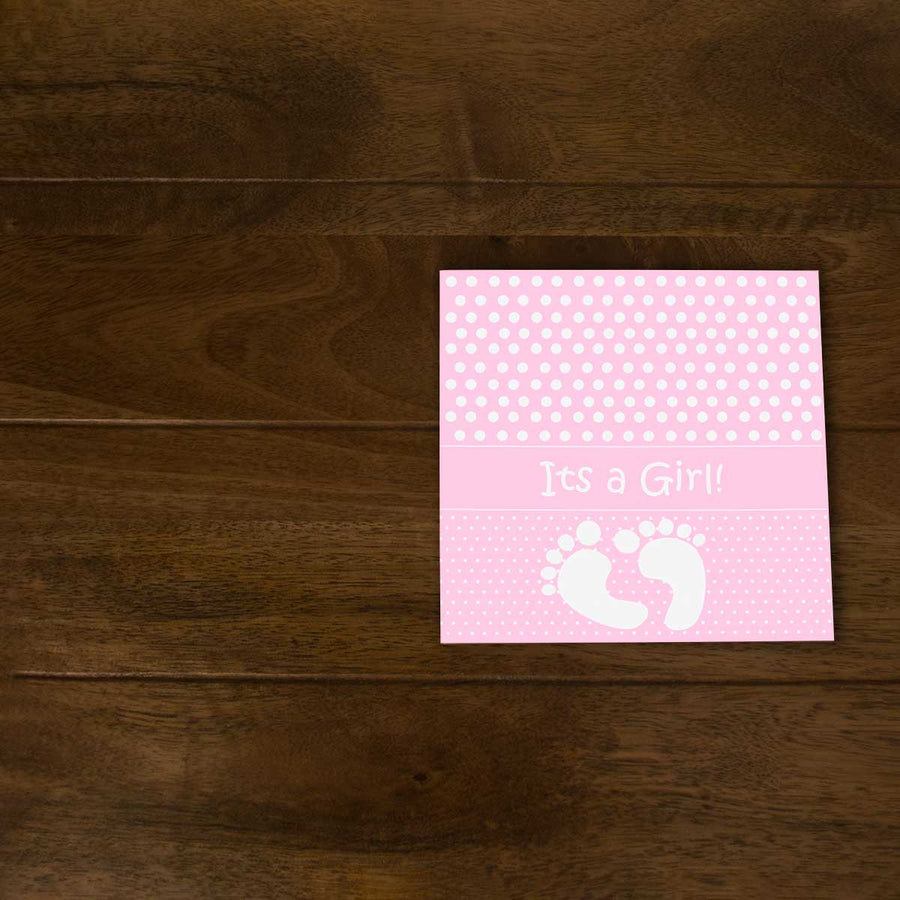 Softcover Photo Books-Baby Girl Flip Photo Book-6 inches x 6 inches-20 Pages