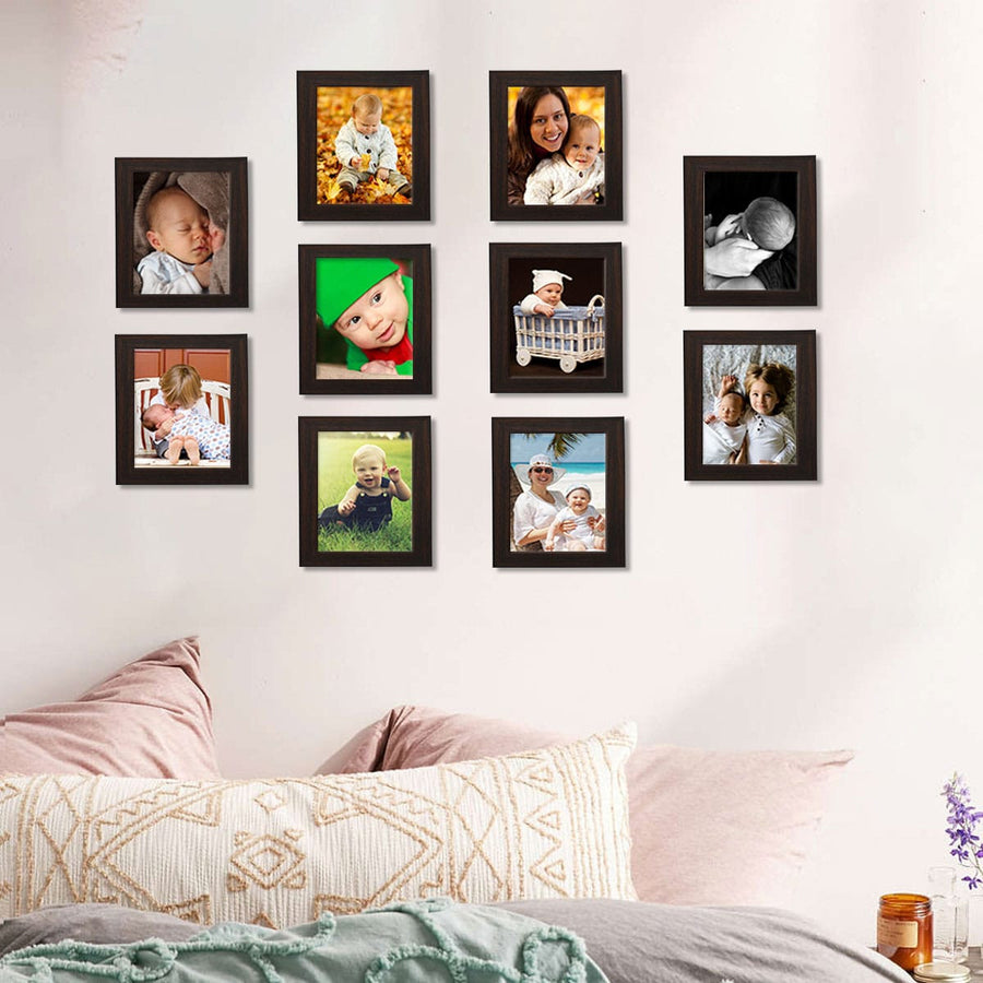 Photo Frames Medium Size 5in x 7in Set of 10