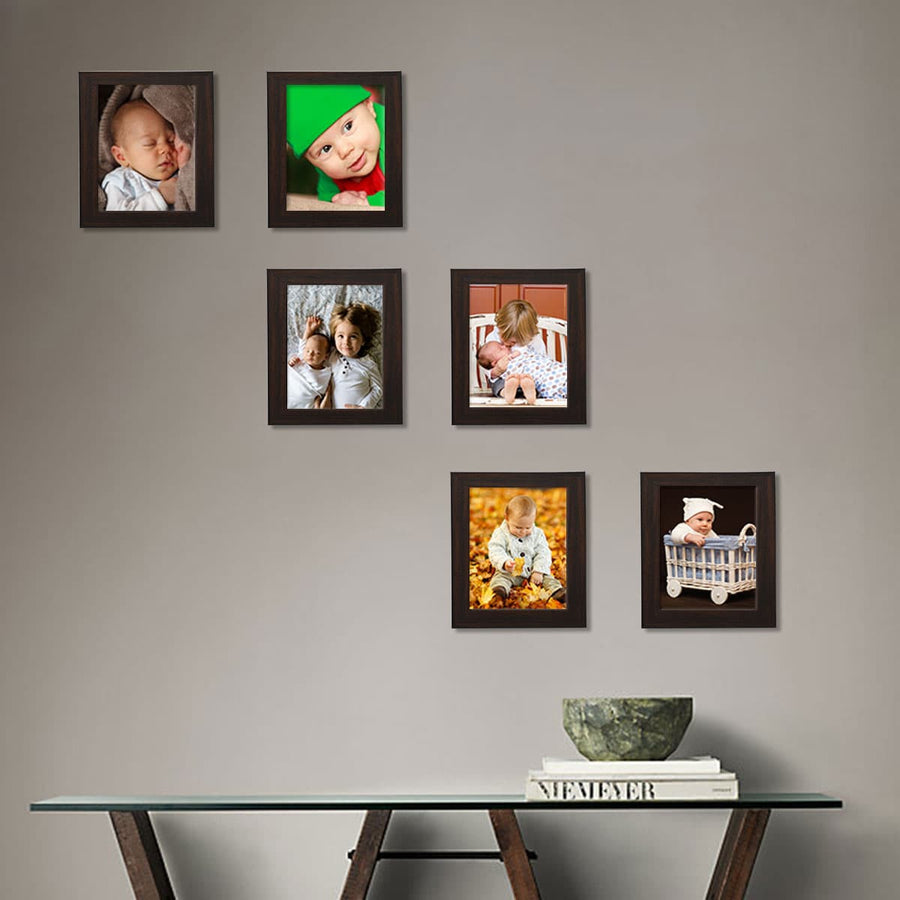 Photo Frames Medium Size 5in x 7in Set of 6