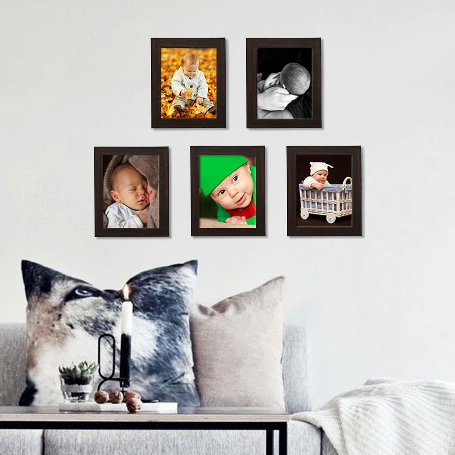 Photo Frames Medium Size 5in x 7in Set of 5