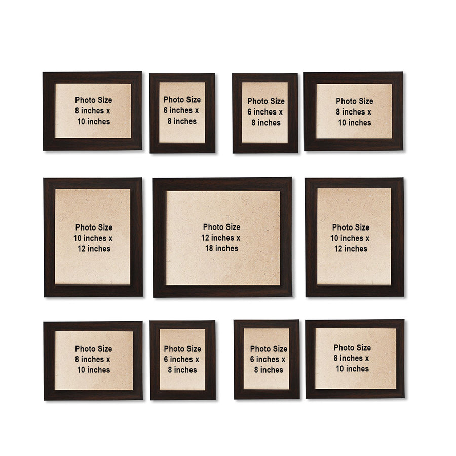 Photo Walls-Mighty Photo Wall Combo Set of 11-