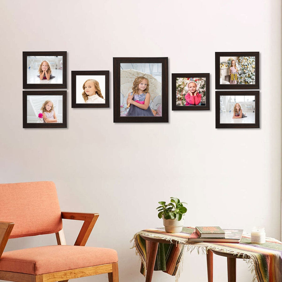 Photo Walls-Macro Photo Wall Combo Set of 7-