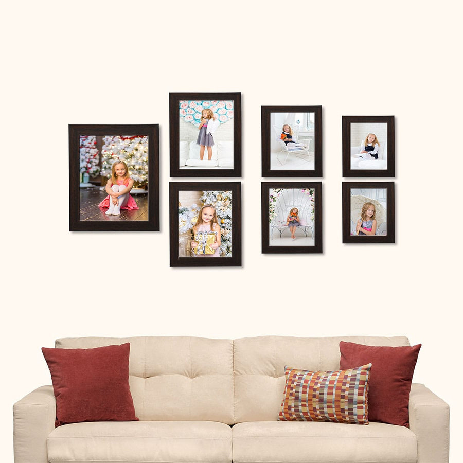 Photo Frames Large Combo Collage Set of 7
