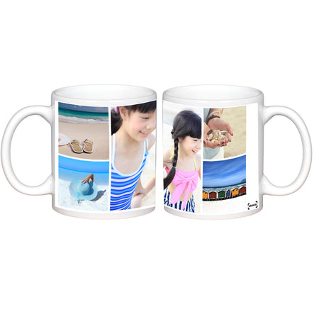 Mugs-5 Photo Collage Photo Mug-