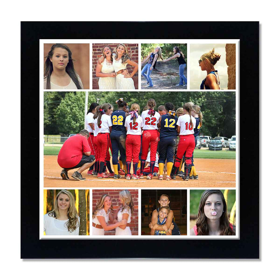 back to squares 9 photo collage poster creative photo gifts in